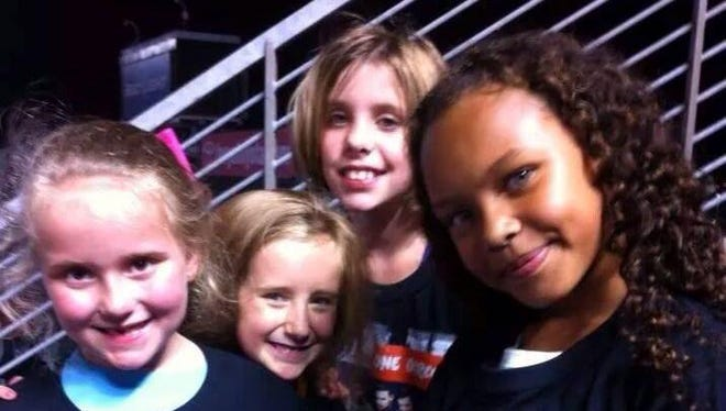 Reagan Michael, Layla Arnold, Madison Inman and Shalanna Churchwell were injured in a car crash on their way home from a One Direction concert last week.