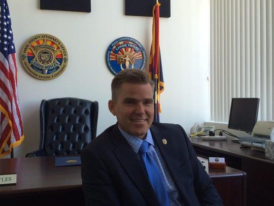 Lando Voyles, former Pinal County attorney.