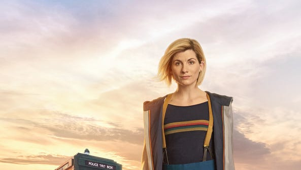 Jodie Whittaker as the Doctor on 'Doctor Who.'