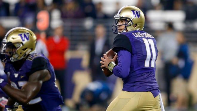 Washington Huskies quarterback K.J. Carta-Samuels has elected to join CSU as a graduate transfer, spurning an offer from UCLA.