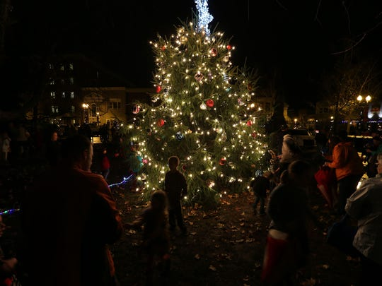 The 2018 Christmas tree lighting in downtown Murfreesboro is Dec. 7.