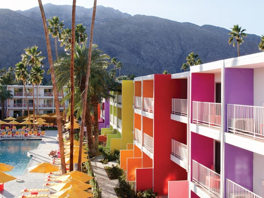 The Saguaro Hotel in Palm Springs.