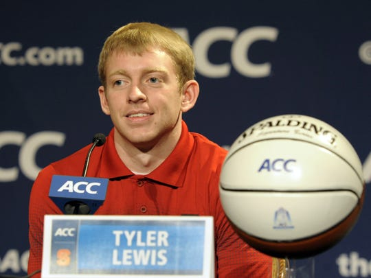 Tyler Lewis is a transfer from N.C. State.