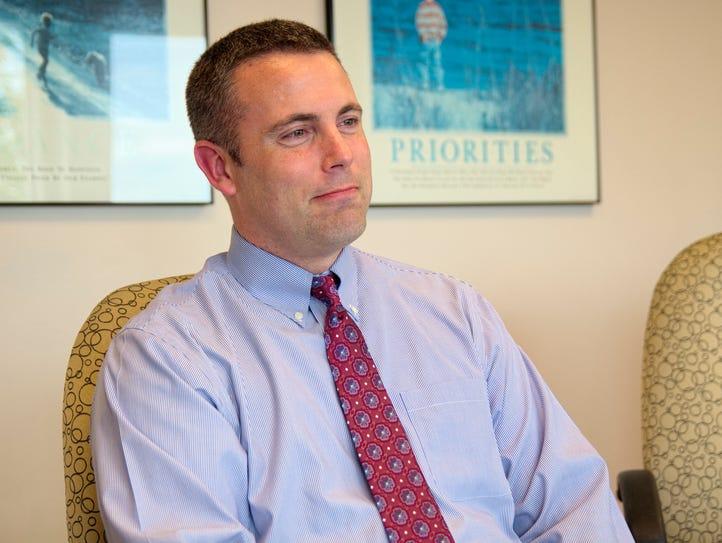 New Sauk Rapids-Rice Superintendent Aaron Sinclair