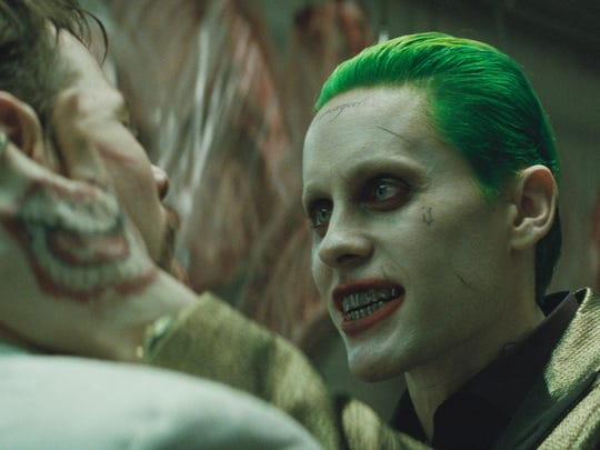 Jared Leto stars as a contemporary Joker in 'Suicide Squad.'