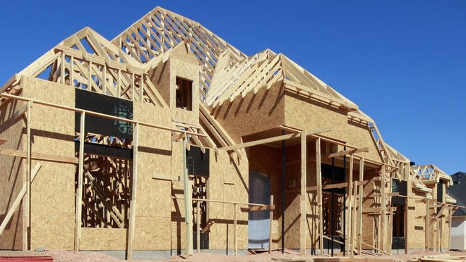 New housing construction is a bright spot in Lubbock's monthly economic index, showing continued growth. According to the economic index, the 738 new housing permits issued through May of this year is a record, and the first time more than 700 new home permits have been issued in the first five months of a year.