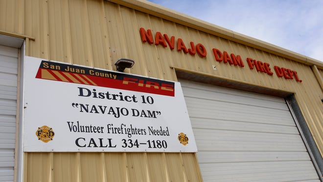 The San Juan County Fire Department District 10 station in Navajo Dam will become a substation of the Blanco district.