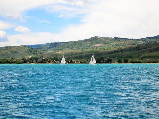 3 Bear Lake sailing