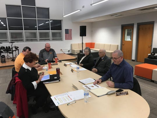 School Board Meeting at the General Assembly