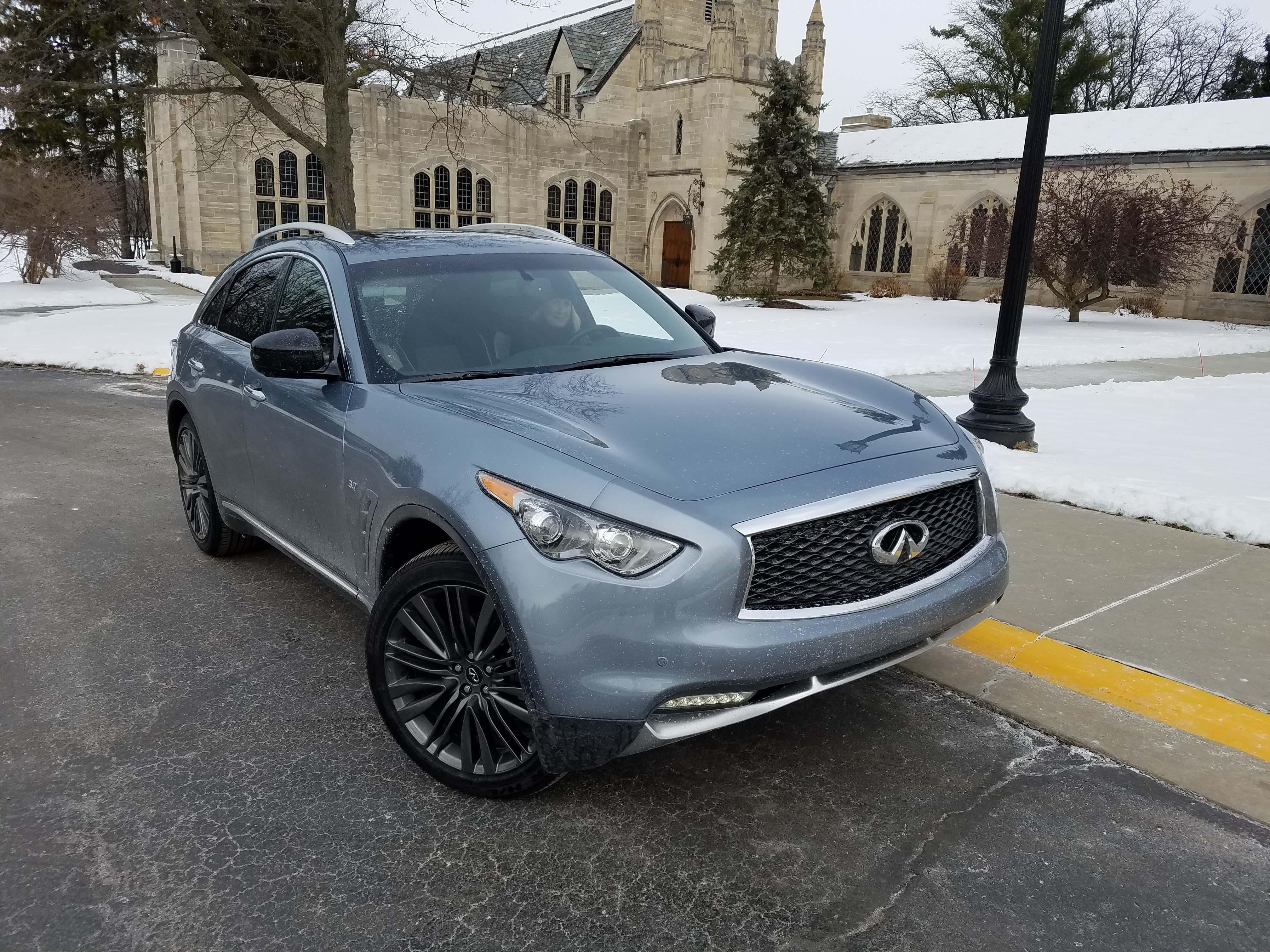 I First Encountered The Infiniti QX70 At A Rental Counter At Christmas In  St. Louis. Normally $125, It Was The Daily Special At Just $30 A Day U2014 Just  $10 ...