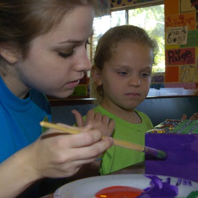 Camp WINGS for grieving children
