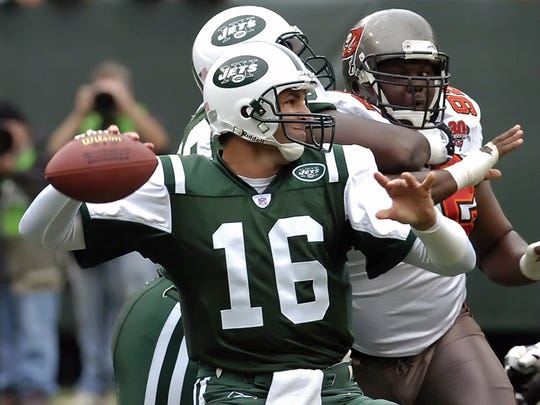 Vinny Testaverde got the Jets within a game of the Super Bowl in 1998.