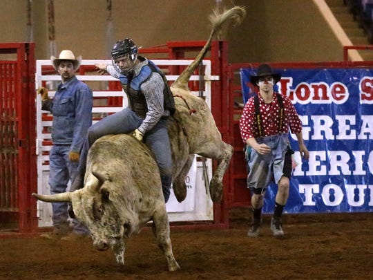 The Lone Star Rodeo will bring bull riding and much more to Henderson Friday and Saturday evenings.