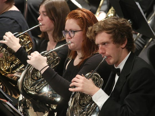The Simpson College Community Orchestra marked five