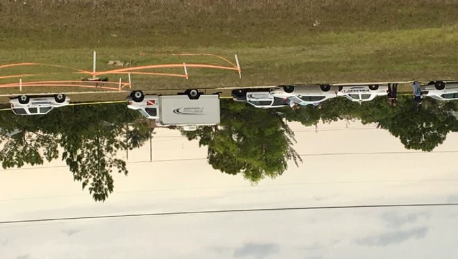 Scene of vehicle burglary and shooting in Cape Coral on Tuesday morning.