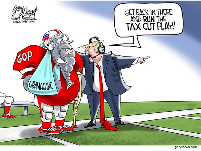 Congressional Republicans are trying to pass a tax