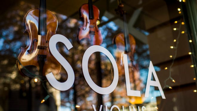 SOLA Violins recently opened in downtown Lafayette.