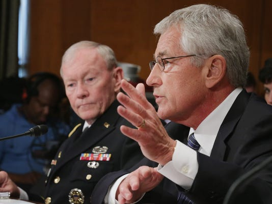 Dempsey and Hagel