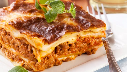 Lasagna is one of the choices for the Rome Ladies Luncheon set for Sept. 17.