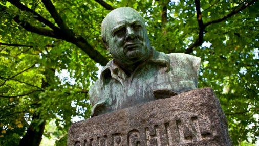 Winston Churchill Statue/Monument, Copenhagen