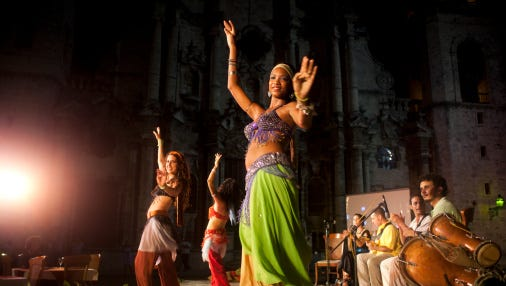 Belly dancing is one of more than 100 skills you can learn at the How to Festival