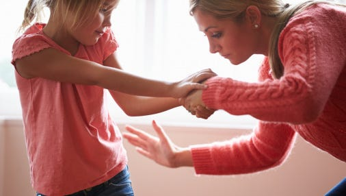 Spanking has been shown to increase aggressive behavior in children and increases the chances that they use violence to resolve their own frustration in the future, including being involved in domestic violence.