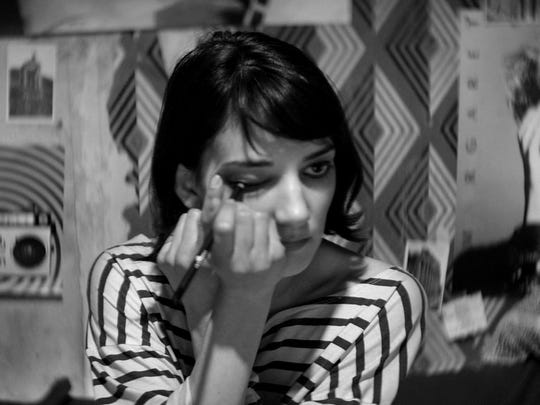 "Sheila Vand is a cool skateboarding Iranian vampire in ""A Girl Walks Home Alone at Night."""