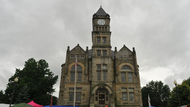 The Union County courthouse in Liberty has been named one of the state's 10 most beautiful.