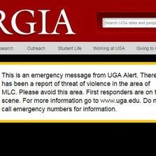 UGA Alert post(Photo: 11Alive)