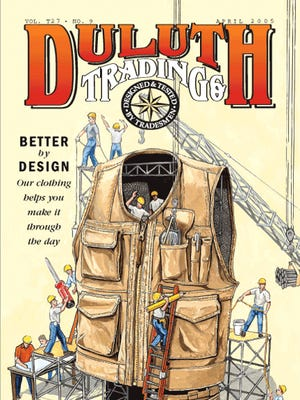 Catalog cover for Duluth Trading Co.