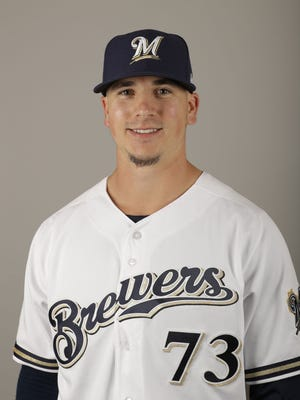 Brewers pitching prospect Taylor Williams.