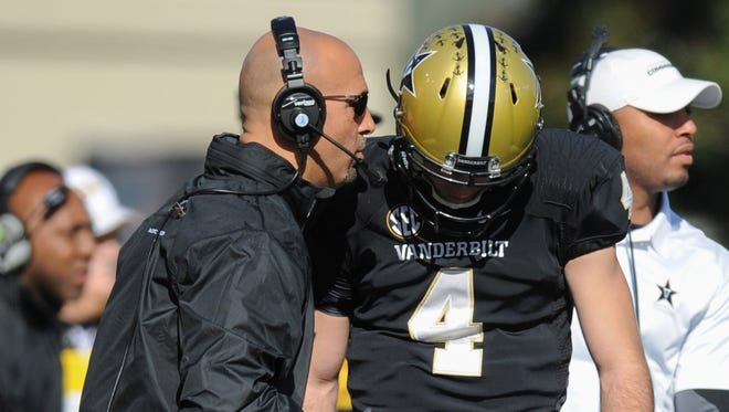 Vanderbilt football coach James Franklin said Monday he loves Vanderbilt and how his assistants are being courted for new jobs. But he didn't talk about any other employers courting him.
