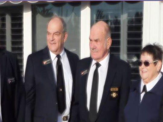 Lt/C Richard Sheehan, AP; Executive Officer Lt/C Larry