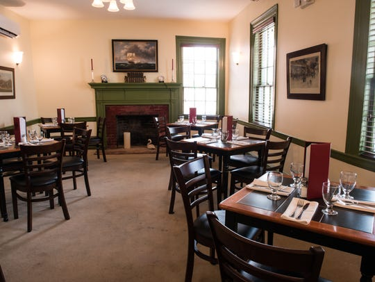 A view of the dining room at the Washington Inn and