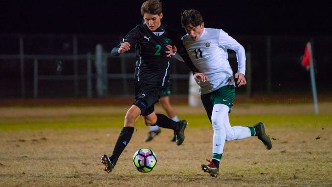 The Lafayette High Mighty Lions are the No. 4 seed while Acadiana's Wreckin' Rams are the No. 11 seed in the Division I boys soccer playoffs announced Wednesday.