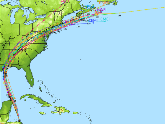 Hurricane Models are in near total agreement on the