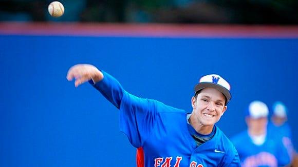West Henderson baseball player Ryan Anderson.