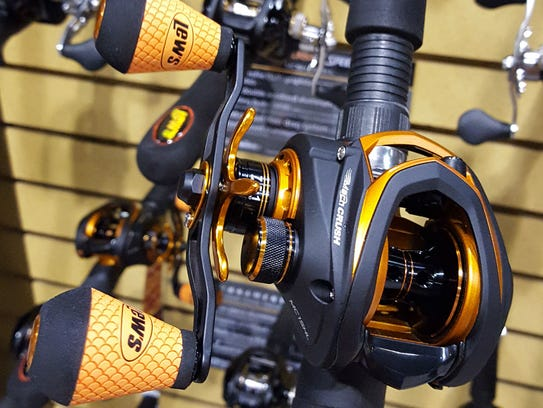 Lew's Mach Crush casting reel was awarded ICAST 2017
