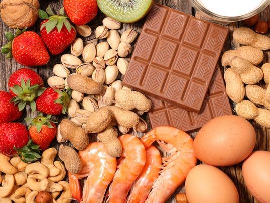 assorted allergy food