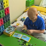 Volunteers re-do young cancer patient's home