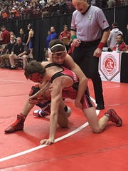 Crestview senior Clay Eagle earned a fourth place medal at the state wrestling tournament, just four weeks after having knee surgery.