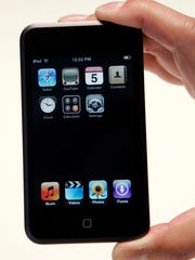 Close up of the Apple iPod Touch that was introduced