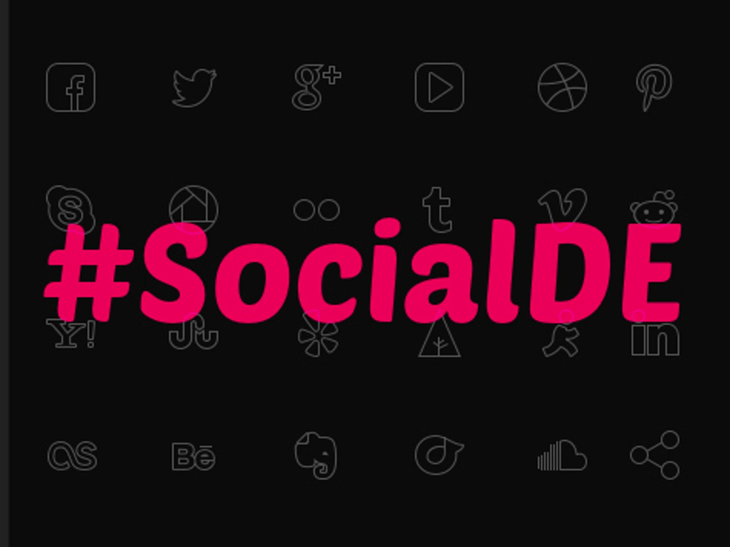 #SocialDE