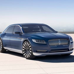 Continental is new face of Lincoln luxury