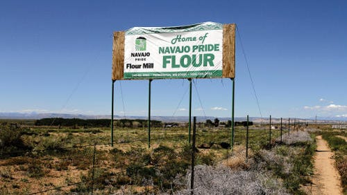 A man was found dead Wednesday at Navajo Agricultural Products Industry's headquarters south of Farmington.