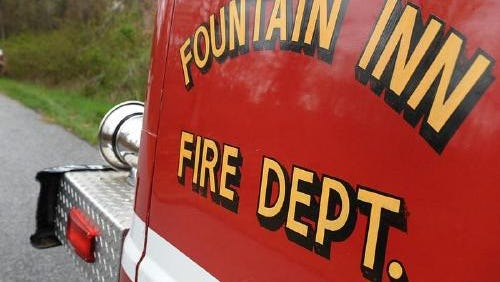 The Fountain Inn Fire Department provides services to a five-mile radius of Laurens County.