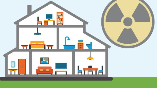 This month the New Mexico Department of Health is warning residents about a sign of medical trouble that hides in plain sight. It's odorless and invisible. It's radon.