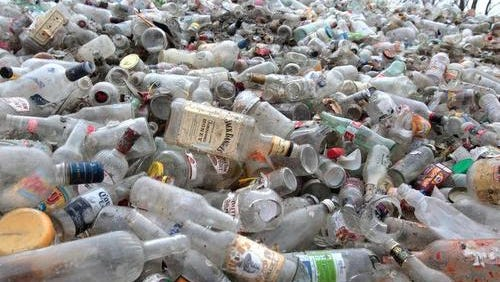 As of March 1, glass bottles will no longer be accepted in Simpsonville's recycling program.