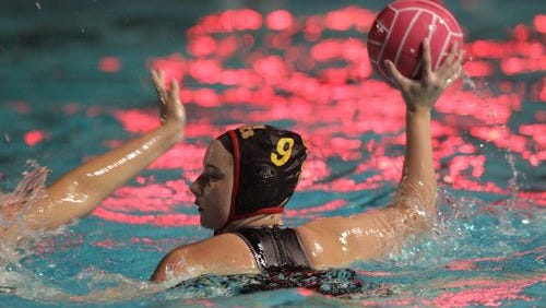 Palm Desert's Shanna Heller looks to fire a shot during the DVL championship game against La Quinta on Wednesday.