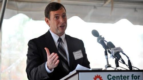 Mike McCormick, Vice President and Technical Plant Manager of Bosch Rexroth in Fountain Inn